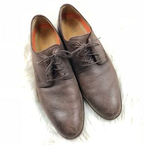 Cole Haan Brown Grand .os  leather dress shoes  8